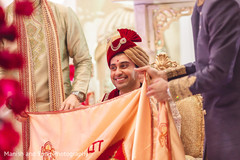 See this elegant groom during the ceremony