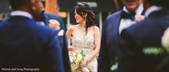 Enchanting maharani wearing the bridal gown