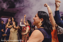 Details of the Indian wedding reception