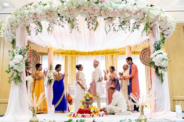 indian bride,indian groom,mandap,venue