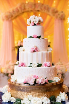 Indian wedding cake details