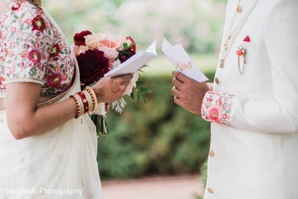 Capture of the Indian couple's letters