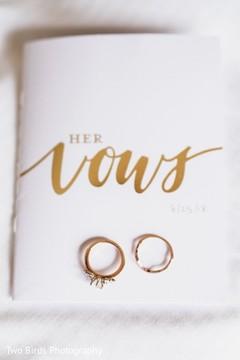 Indian wedding rings detail