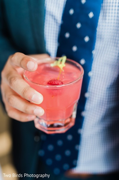 Refreshing drink for the guests