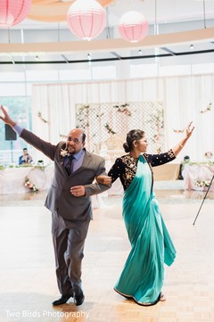 Parents have a great time during the reception