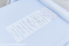 Detailed Indian wedding guide print out.