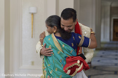 Wonderful capture of Indian groom with relative.