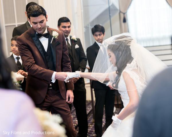 indian bride,indian groom,christian indian wedding ceremony