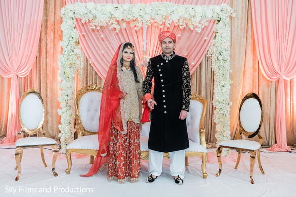 indian bride,indian groom,indian wedding reception