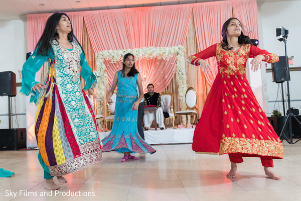Phenomenal Indian dancers portrait.