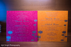 Colorful Indian wedding Invitations capture.