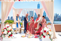 Maharani and Raja wedding photo.