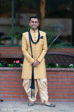 Elegant Raja posing for pictures