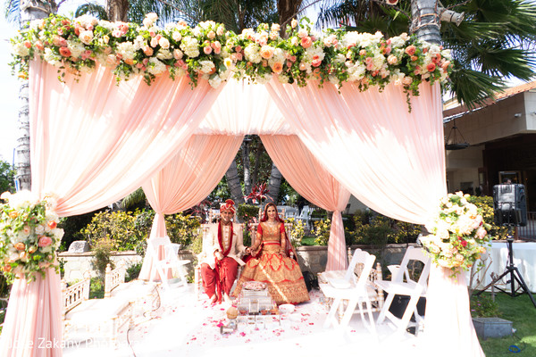 indian bride,indian wedding ceremony fashion,indian groom,mandap