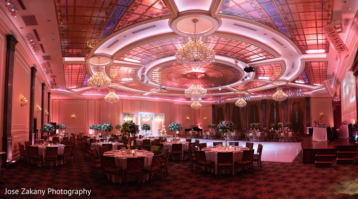 indian wedding reception decor,reception lights,table setup