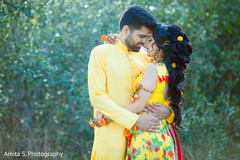 Sensational outdoor themed Indian couples photo shoot.