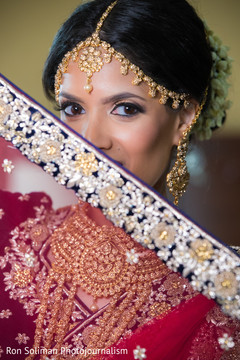 Indian bridal look inspiration.