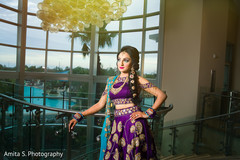 Regal Indian bridal sangeet lehenga.
