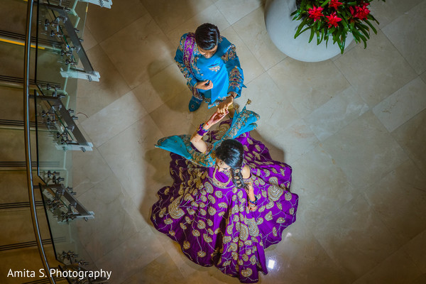 sangeet,indian pre-wedding fashion,indian bride and groom
