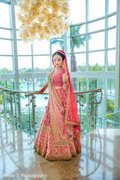 Adorable Indian bride photo.