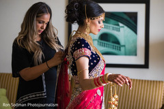 Stunning Indian bride with her lengha.