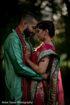 Lovely Indian bride and groom capture.