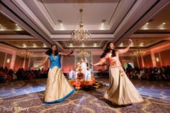 Splendid Indian sangeet dance performance.