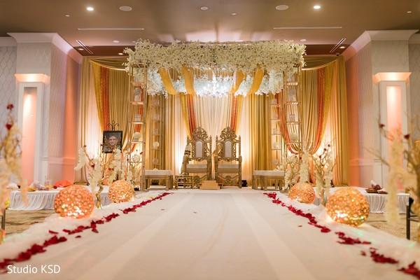 indian wedding,decor,details,venue