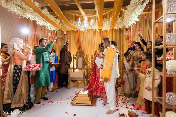 indian wedding,decor,details,indian bride