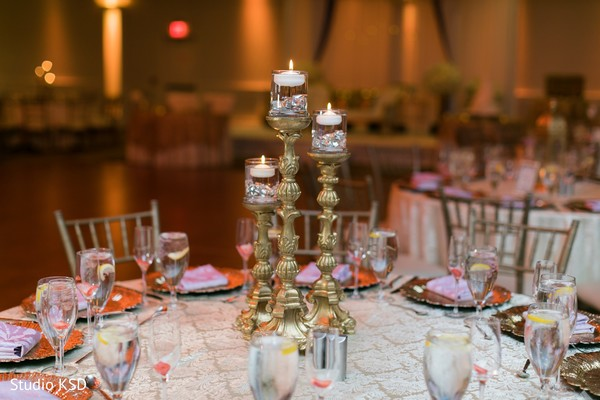 Center piece ornaments for the Indian wedding reception