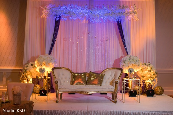 See this gorgeous Indian wedding reception decor