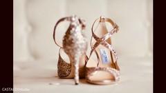 Phenomenal Indian bride's shoes capture.