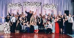 Sweet this indian wedding reception portrait.