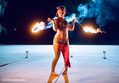 Incredible Indian wedding fire dancer capture.