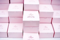 Sweet personalized indian wedding favors.
