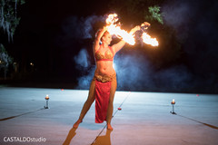 Stunning Indian pre-wedding fire dancer.