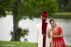 Sensational outdoor themed Indian groom with bride photo shoot.