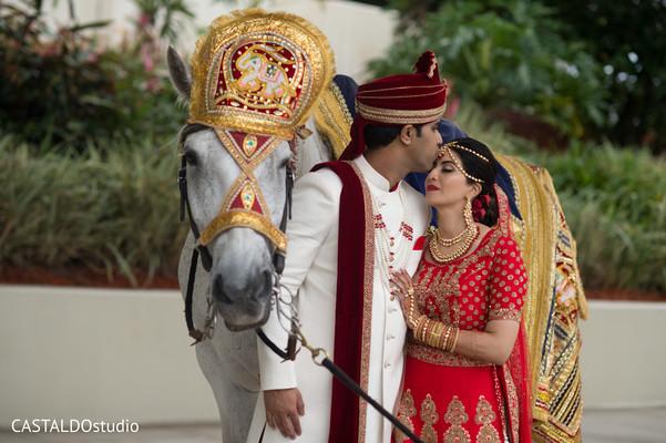 baraat,baraat horse,indian groom,indian bride