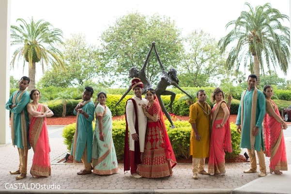 indian bride,indian groom,indian wedding ceremony fashion,indian bridesmaids and groomsmen