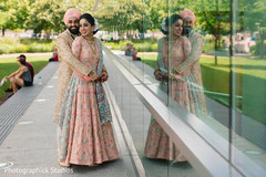 Outdoor themed Indian bride's photo session