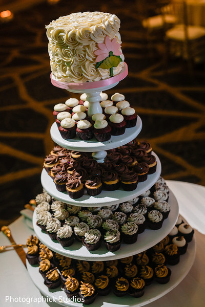 Sweets for the Indian wedding guests