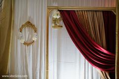 Elegant Indian wedding decoration capture.