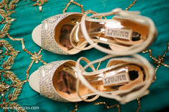 Stunning Indian bridal shoes.