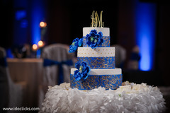 Sweet indian wedding cake.