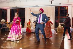 Phenomenal Indian bridesmaids and groomsmen dance capture.