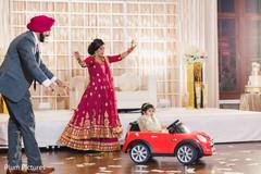 Sweet Indian wedding reception photo.
