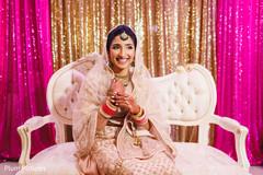 Lovely Maharani ready for ceremony.
