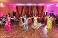 Marvelous sangeet dance capture.