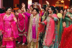 Marvelous Indian sangeet ritual capture.