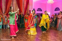 Maharani's sangeet dance performance.